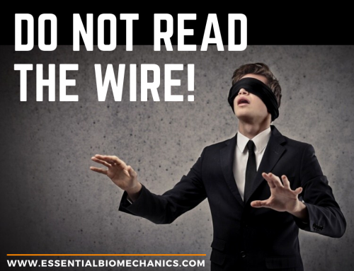 Do not read the wire!